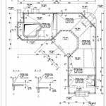 11 Опалубка монолит. перекрытия над подвалом. Схема распол.выпусков