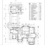 2Кладочный план и экспликация 2 этаж