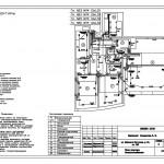 4 План квартиры электрооборудования