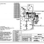 5 План квартиры Электрооборудования