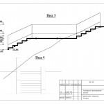 7 Вертикальная планировка. Лестница.